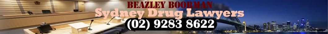 Sydney Drug Lawyers